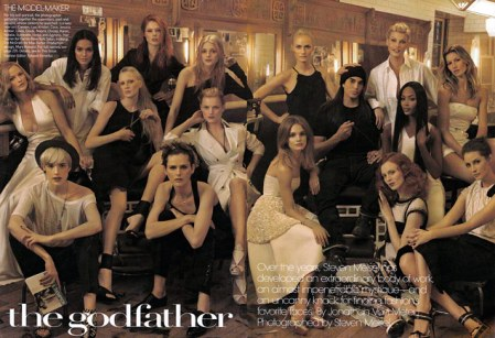 Coco in Steven Meisel tribute: Vogue May 2009